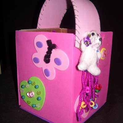 Homemade easter baskets thriftyfun easter basket homemade negle Choice Image