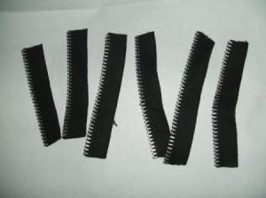 Pieces of zipper.
