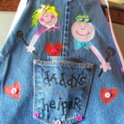 Denim Apron 1
