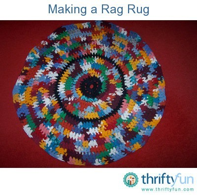 making a rag rug instructions