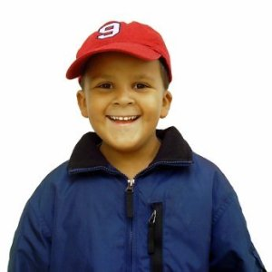 kid wearing a jacket