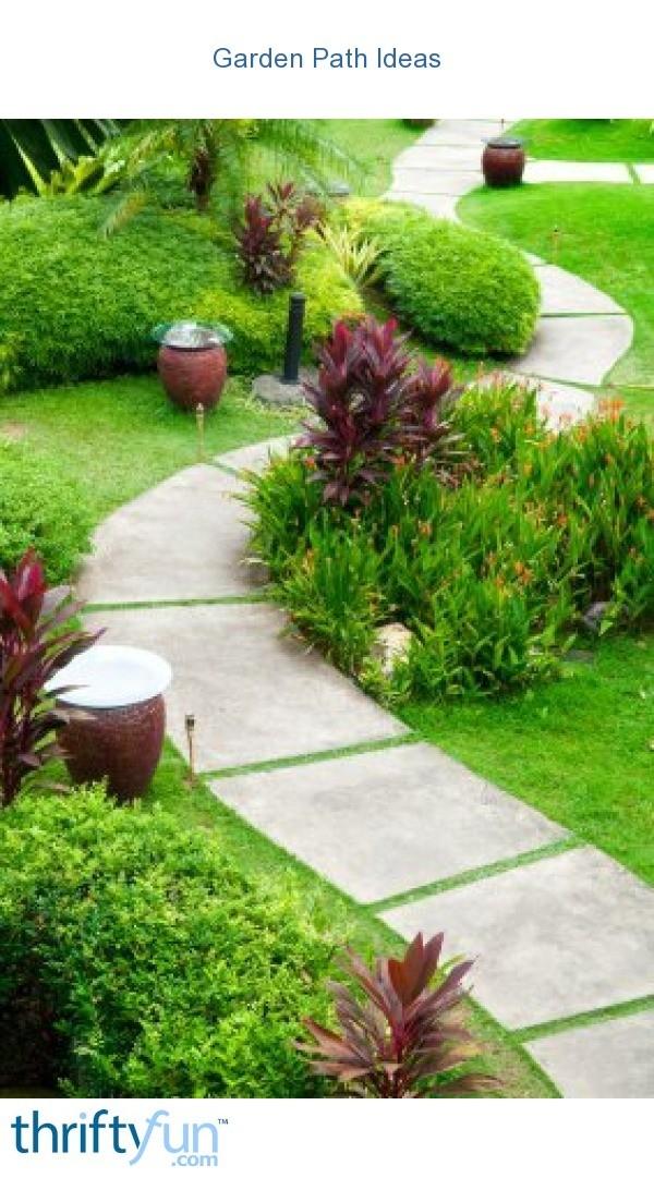 Garden Path Ideas | ThriftyFun