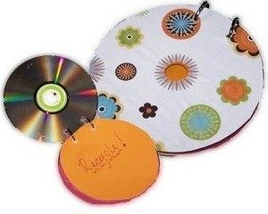 making a recycled cd notepad thriftyfun