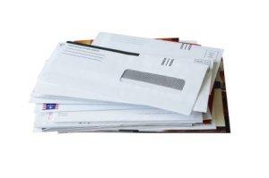 Reusing Envelopes, Stack of Envelopes