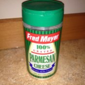 Parmesan Cheese Container