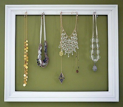 Making a Picture Frame Jewelry Holder ThriftyFun