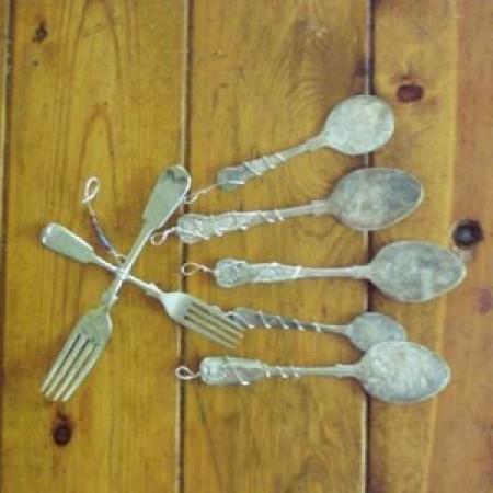 Silver Spoon Windchimes Supplies