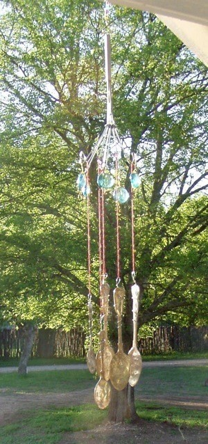 Finished Wind Chimes