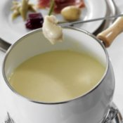 Cheese Fondue Recipes, Cheese fondue.