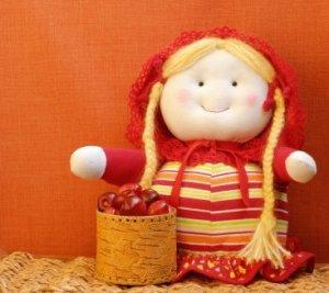 homemade doll