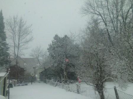 Snow storm (Brockville, Ontario