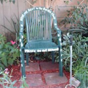 Path garden chair.