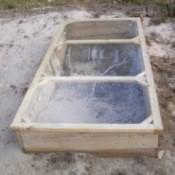 Cold frame lid.