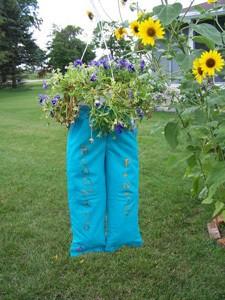 Blooming pants.