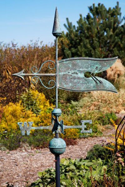 Article: Weathervanes For The Garden