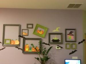 wall frames halloween