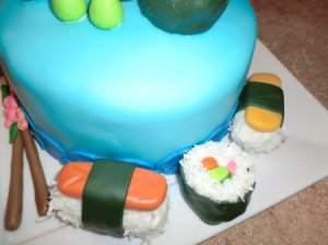 Sushi Cake side view2
