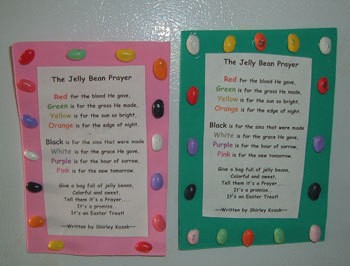 jelly bean prayer magnet