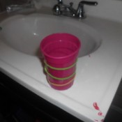 Rubberbands on Cups