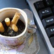 cigarette smell computer