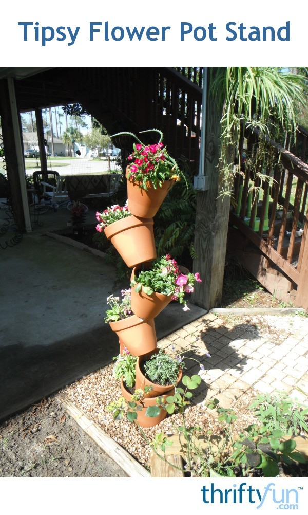 Tipsy flower pots thriftyfun - Best compost for flower pots solutions within reach ...
