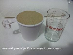Packed Brown Sugar