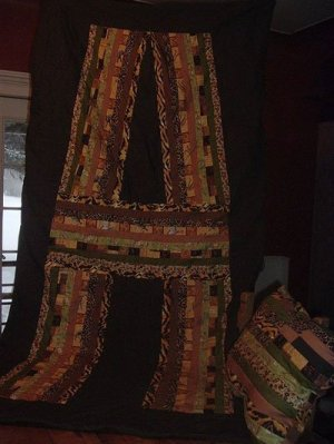 Quilt with a capital A.