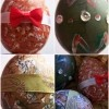 Deluxe Easter Eggs - Addition of bows, ribbon, and rhinestones.
