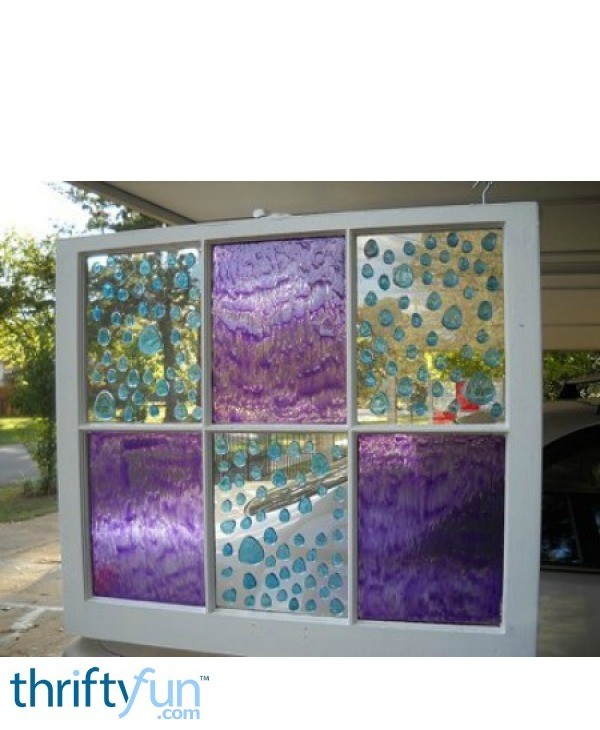 Faux Stained Glass Windows Thriftyfun