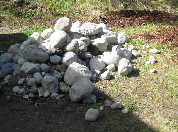 Pile of Rocks for Rockery