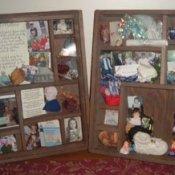 Memento boxes.