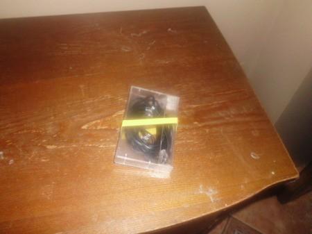 Cords in Cassette Case