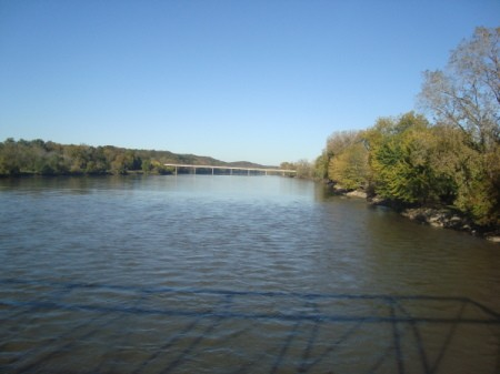 A view of the Des Moines River (Bentonsport, IA)