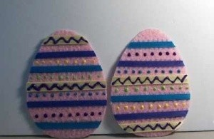 Finished eggs.