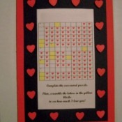 Crossword Puzzle Valentine