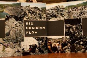 Obsidian Flow Scrapbook Page
