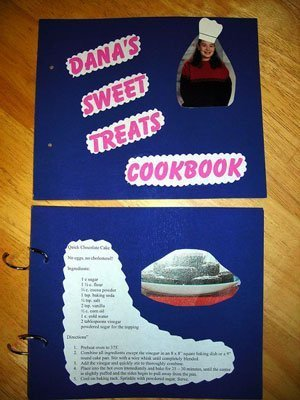 Homemade cookbook.