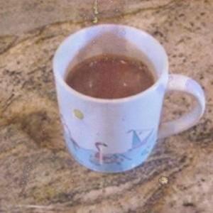 Coffee Mug Chocolate Cake Before Cooking