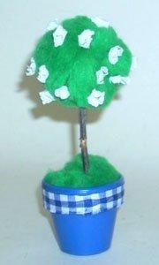 Easy Clay Pot Topiary