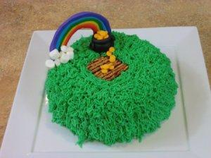 Leprechaun Trap Cake 10