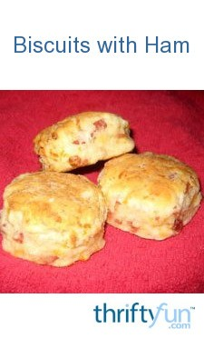 Country Ham and Cheese Biscuits | ThriftyFun