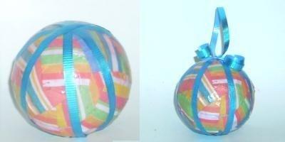 Decoupage Balls
