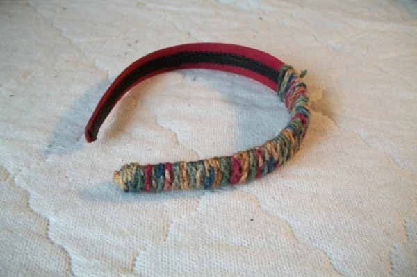 Ideas For Crocheted Chains - headband