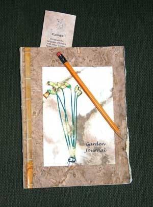An example of a Garden Journal