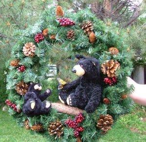 Bear Wreath