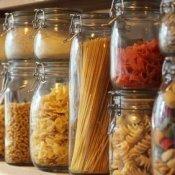 Pasta in Glass Jars