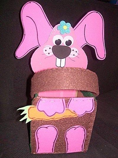 Bunny bean bag game or Easter basket.