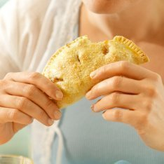 Enjoying a Hand Pie