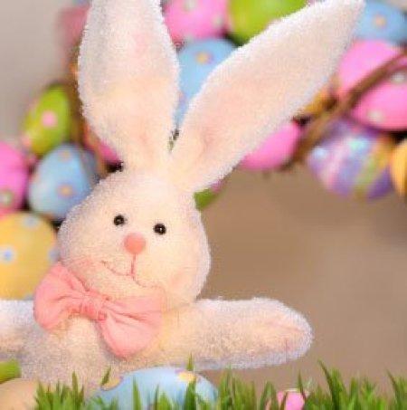 Stuffed Easter Bunny