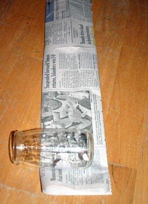 Rolling up Jar